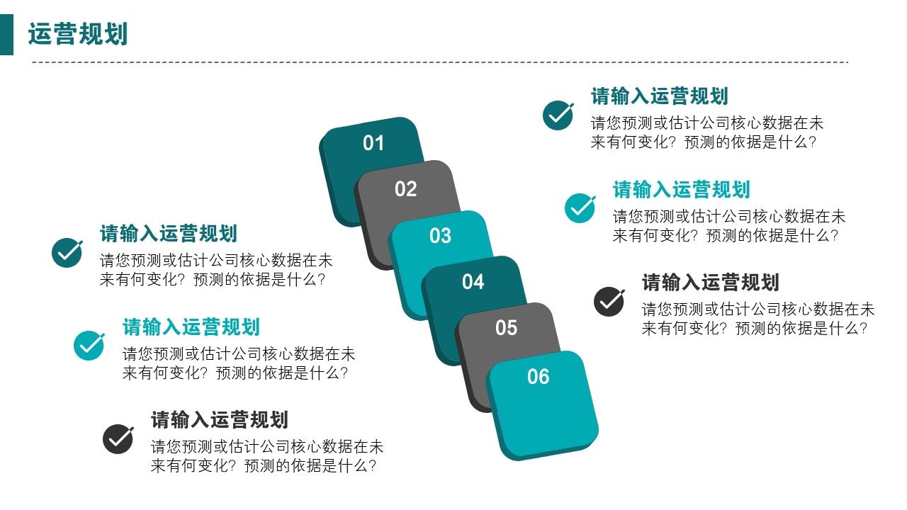 互聯網app工具類辦公軟件生活服務完整商業計劃書PPT模版-運營規劃