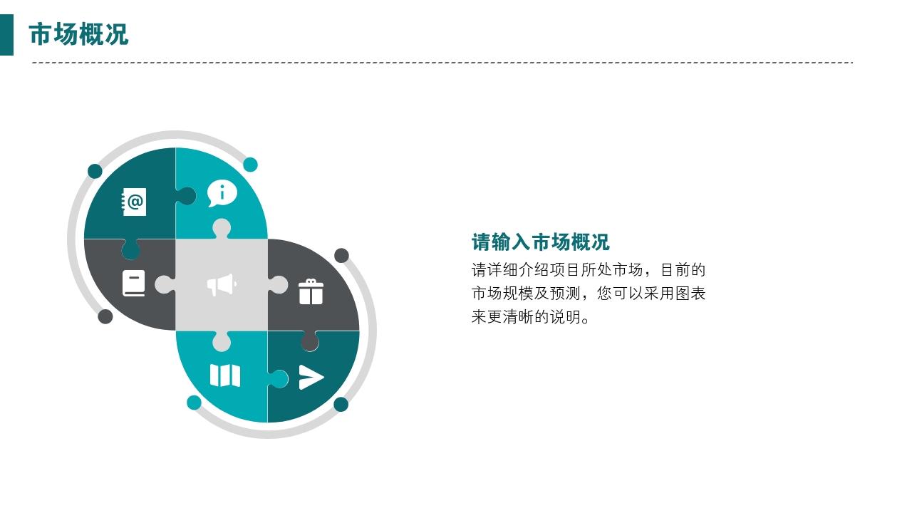 互聯網app工具類辦公軟件生活服務完整商業計劃書PPT模版-市場概況